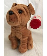 "Keel Toys Simply Soft Collection 7"" SHAR PEI Puppy Dog Plush Toy Sharpei... - $24.99"