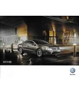 2013 Volkswagen CC brochure catalog US 13 VW 2.0T R-Line Lux V6 4MOTION - $9.00