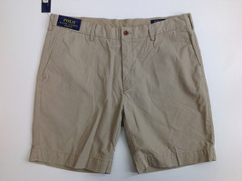 """$99 Polo Ralph Lauren Men's Straight Fit 8"""" Chino Shorts, Khaki, Size 38 - $59.39"""