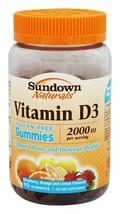 Sundown Naturals Vitamin D3 2000 IU per Serving Gummies - 90 ct, Pack of 4 - $28.05