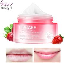 BIOAQUA Strawberry Lip Sleeping Mask hydrating makeup Exfoliator Lips Ba... - $19.57
