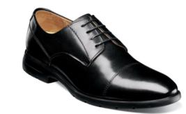 Florsheim Westside Cap Toe Oxford Men's Shoes Black Leather 13328-001 - $129.99