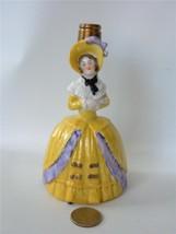 """Vintage German Figural Lady Perfume Bottle Vase Lamp Base 5"""" Porcelain Y... - $44.54"""