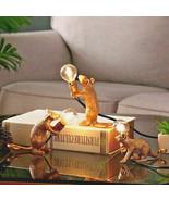 3pcs Mouse Cute LED Night Lights Nordic Resin Animal Rat Table Lamp Home Decor - $59.99