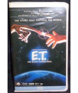 ET The Extra-Terrestrial - Clamshell - Dee Wallace - Gently Used VHS Vid... - $7.91