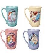 Disney Store Princess Latte Mug Belle Jasmine Ariel Aurora 2020 New - $59.95