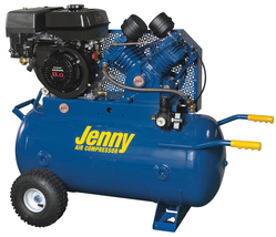 Jenny 9Hp 30Gallon 1Stage Truck Mount Gas Powered Air Compressor 15CFM G9HGA-30P - $2,675.00