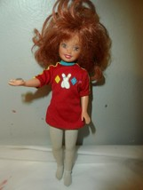 Mattel Barbie Bowling Party Whitney Doll Bowling Magnetic Hand Button Rise - $9.85