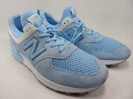 New Balance 574 Sport Size 9.5 M (D) EU 43 Men's Running Shoes Blue MS574STB