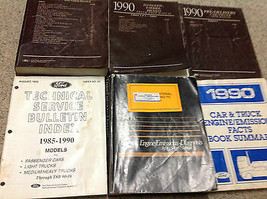 1990 Ford Bronco F150 F-SERIES F-250 TRUCK Service Shop Repair Manual Se... - $287.05