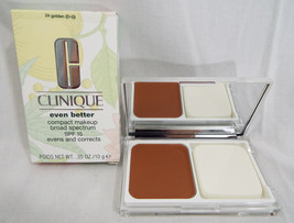 Clinique Even Better Compact Makeup SPF15  Golden 24 (D-G) Retired Disco... - $53.03
