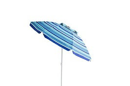 Polaris Garden Outdoor 7 feet Foldable Beach Umbrella with Tilt and Tele... - $35.17