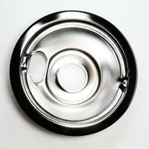 WB31M16 GE 6 In Burner Drip Bowl Chrome OEM WB31M16 - $10.84