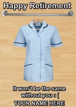 Assistant Practitioner Happy Retirement A5 Personalised Card Code11 - $3.89