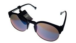 Converse Black Gold Mens Sunglass Soft Square Plastic, Flash Lens H067 - $22.49