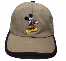 Disney Mickey Mouse Baseball Hat Youth Kids Size 3-7 Adjustable Strap - $19.75