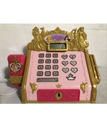 Disney Princess Royal Boutique Cash Register & Scanner. Talking + Calcul... - $14.49