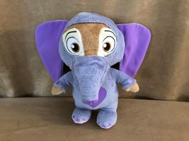 Disney little toot toot Zootopia Ele Finnick Talking Plush transforms el... - $22.50