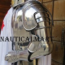 NauticalMart LARP Complete Medieval Arms Set Knight Costume - $240.00