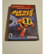 Pac-Man World 2 - (Sony Playstation 2, 2002) ~ Classic Video Game ~ TESTED - $7.82