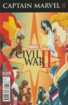 Captain Marvel #8 NM 2017 Marvel Comics Civil War II Gage 1st print 2016 - $2.76