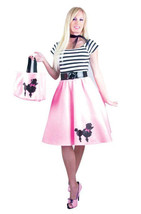 PINK POODLE DRESS ADULT HALLOWEEN COSTUME X-SMALL - $30.39