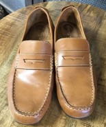 Florsheim Comfortech Mens 11M Oil Brown Leather Slip-On Loafers  - $32.73