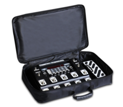 Universal Electric Guitar Canvas Effect Pedal Board Bag Effect Pedal Car... - $19.79