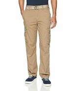 UNIONBAY Men's Survivor Iv Relaxed Fit 100% Cotton Cargo Pant-Reg Big &T... - $34.90+