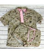 USMC Marine Corps Desert Camouflage Pajama Set - 3-pc (Top, Bottom and H... - $24.99
