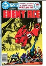 DC SPECIAL #26-Enemy Ace-Joe Kubert FN/VF - $9.70