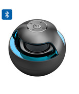 "Portable Bluetooth Speaker ""Magic Blk Ball"" Stereo Sound,LED light, Batt... - £13.46 GBP"
