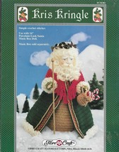 Crochet Pattern & Instruction Booklet-Kris Kringle- Fibre Crafts-CHRISTM... - $4.95