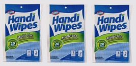 """3~New! Clorox Multi-Use Paper Cleaning Cloth Reusable 11"""" W x 21"""" L 6 pk... - $14.90"""
