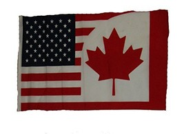 ALBATROS 12 inch x 18 inch U.S.A. USA Canada Canadian Sleeve Flag for us... - $19.40