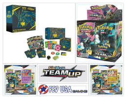 Pokemon Team Up ULTIMATE TRAINER KIT Booster Box + Elite + 2 Blisters Packs - $164.99