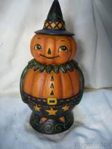 Bethany Lowe Pumpkin Pete Spooks Jar for Halloween image 1