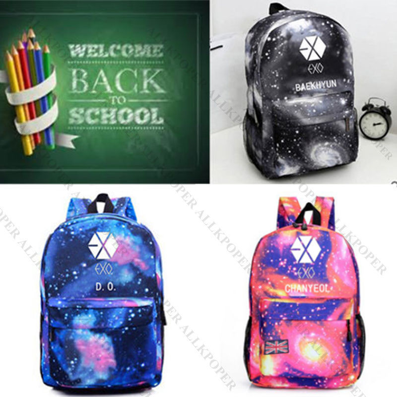 Luggage & Bags Men's Bags Twice Monstax Backpack Bag Exo Cute Bag Got7 Bookbag Student Back To School Special Buy