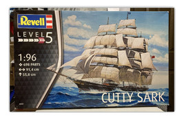 Revell Cutty Sark Model 05422 1/96 Scale Level 5 Factory Sealed Box Clipper Ship - $224.70