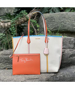 Tory Burch Perry Canvas Oversized Tote - $230.00