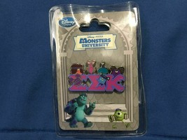 Monsters University EEK Fraternity Pin *NEW* L1 - $7.99