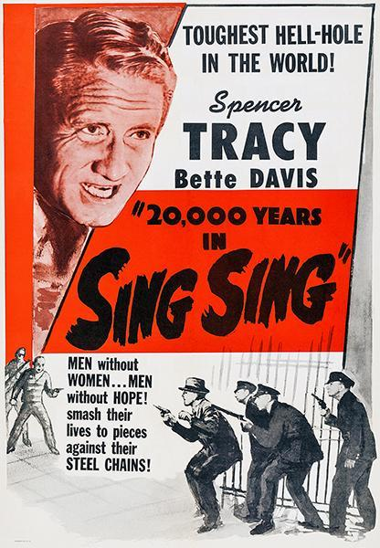 Primary image for 20,000 Years In Sing Sing - 1932 - Movie Poster