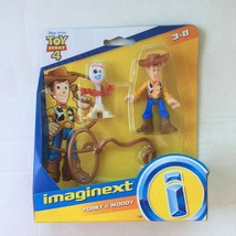 Toy Story Imaginext Figures Woody & Forky - $10.77