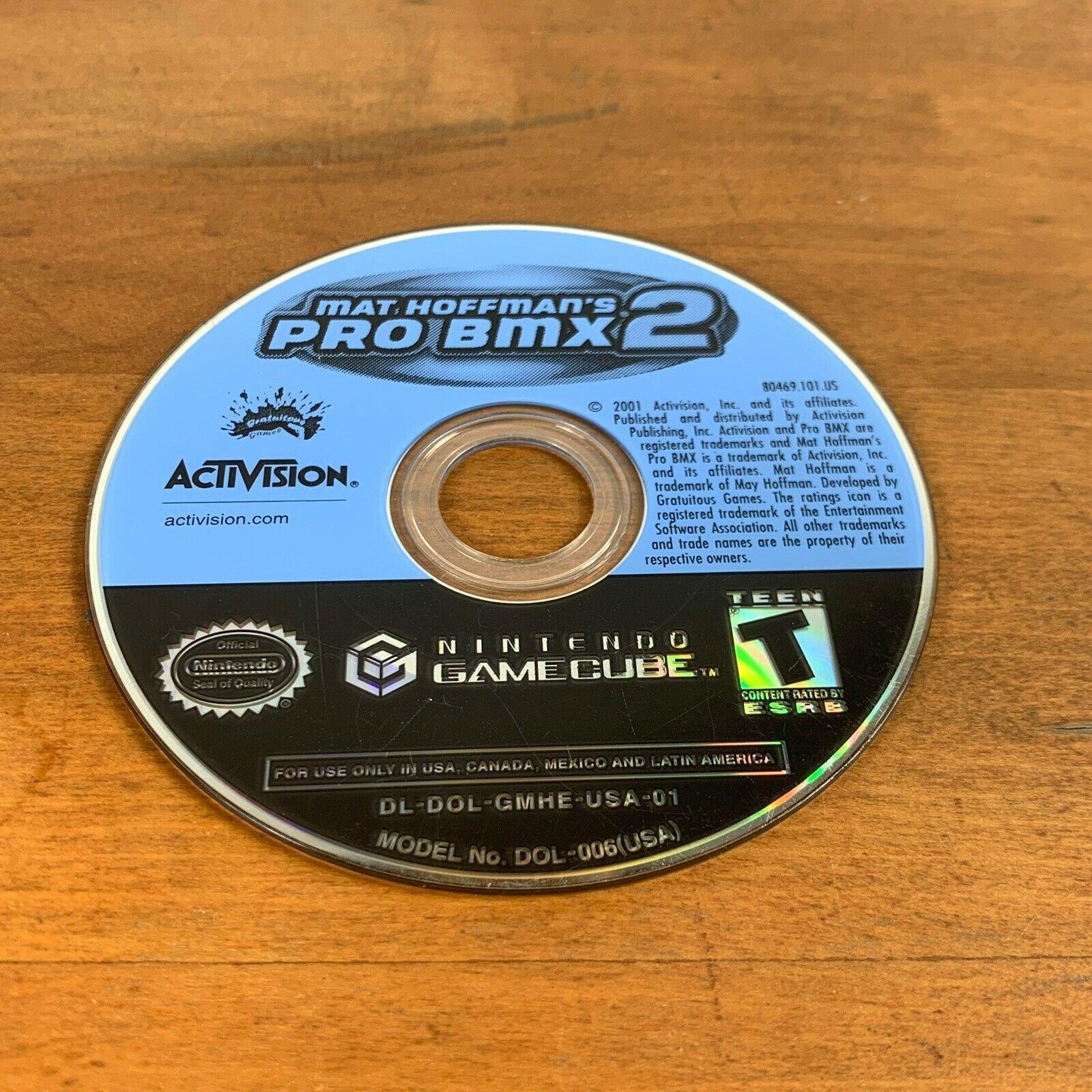 Mat Hoffman's Pro BMX 2 (Nintendo GameCube, 2002) Disc Only Tested