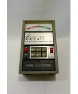 Sencore Touch Tone Cricket In or Out of Circuit Transistor Fet Tester  - $42.65