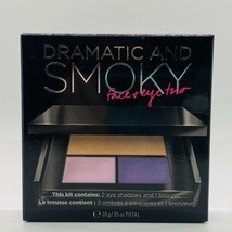 Victoria's Secret Dramatic and Smoky Face & Eye Trio Make Up Bronzer & Shadow - $14.80