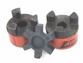 SET OF LOVEJOY L-100 SPIDER COUPLINGS 0.750 BORE 68514411512 WITH INSERT
