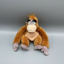 "Disney Store Jungle Book 8"" King Louie Beanbag Plush Retired - $11.87"