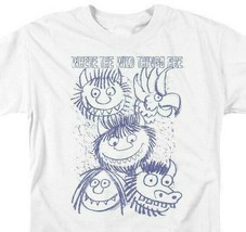 Where the Wild Things Are T-shirt Retro Childrens Book graphic t-shirt WBM703 image 2
