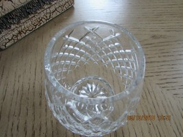 LENOX CRYSTAL1ST ANNUAL CHRISTMAS CANDLE HOLDER NOEL 1984 SALE image 2